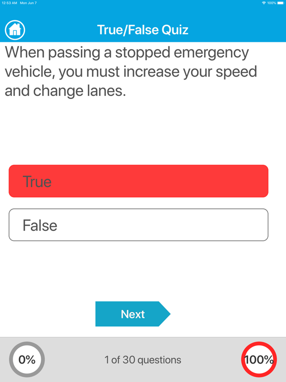 Driving Licence Quiz screenshot 10