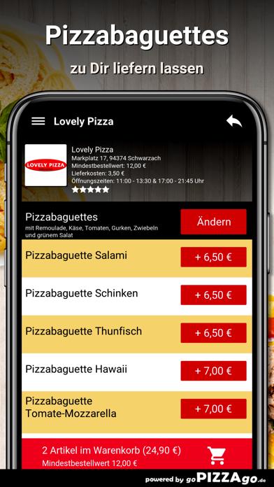 Lovely Pizza Schwarzach screenshot 5