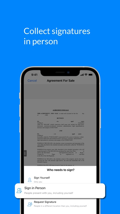 SignEasy - Sign and Fill Docs screenshot-5
