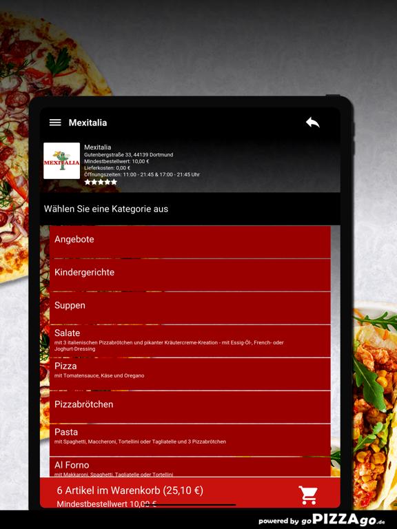 Mexitalia Dortmund screenshot 8