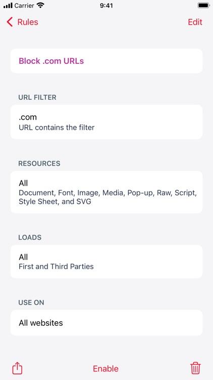 Roadblock - Content Blocker screenshot-6