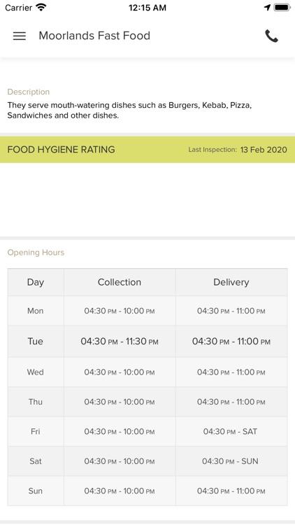 Moorlands Fast Food screenshot-3