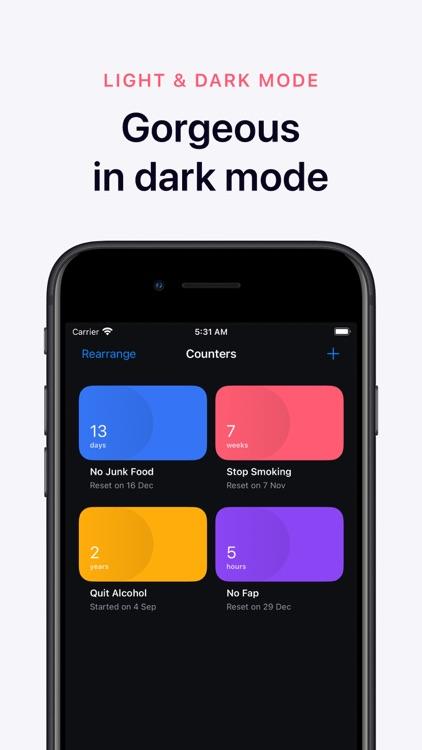 Days Since: Quit Habit Tracker screenshot-7