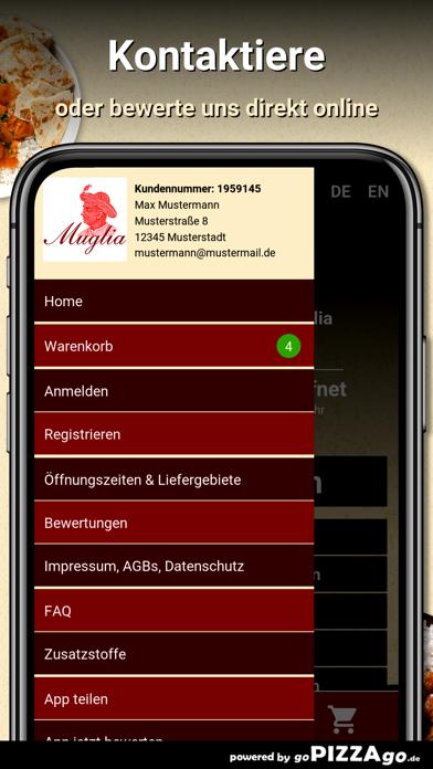 Indisches Restaurant Muglia screenshot 3
