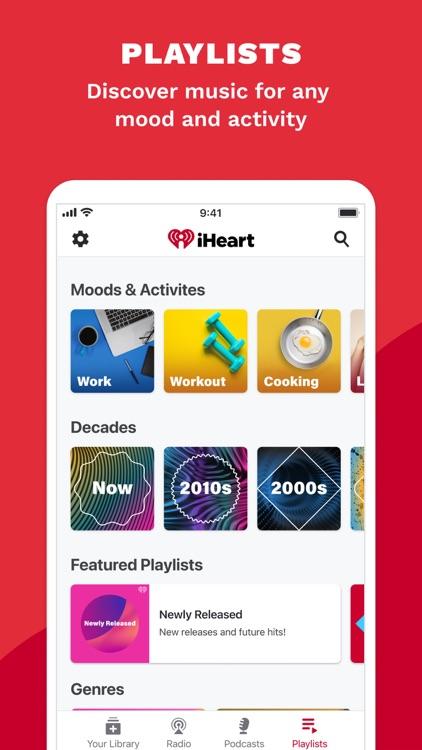 iHeart: Radio, Music, Podcasts screenshot-4