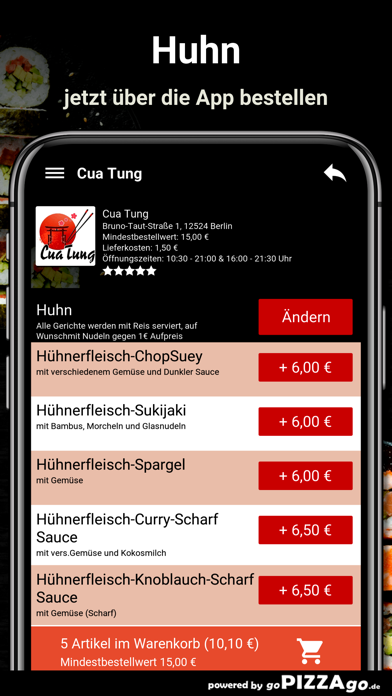 Cua Tung Berlin screenshot 5