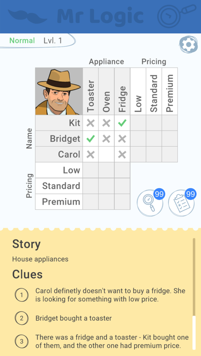 Mr Logic screenshot 1