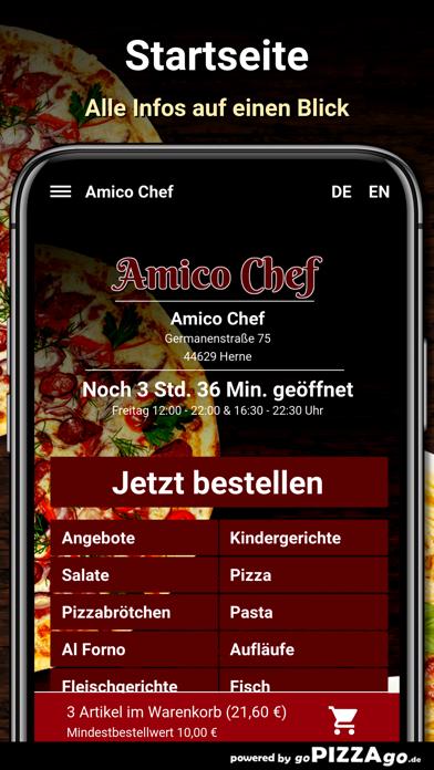 Amico Chef Herne screenshot 2
