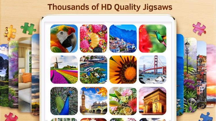 Best Jigsaw Puzzles HD screenshot-7