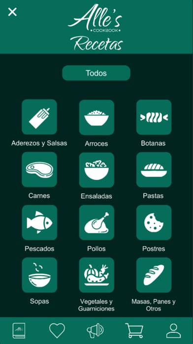 Recetario - Alle's Cookbook screenshot 5