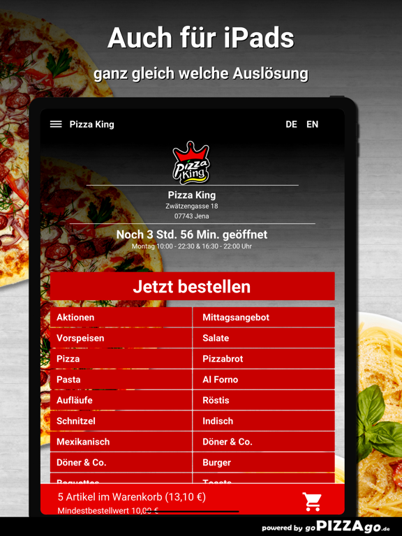 Pizza King Jena screenshot 7