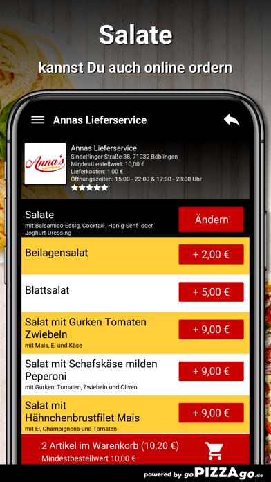 Annas Lieferservice Böblingen screenshot 5
