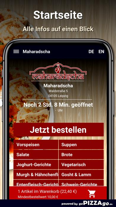 Maharadscha Leipzig screenshot 2