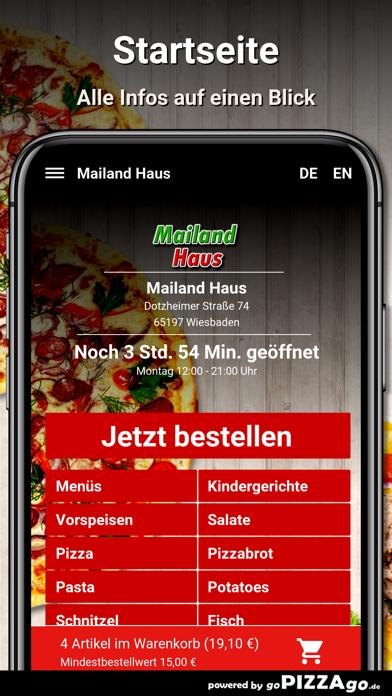 Mailand Haus Wiesbaden screenshot 2