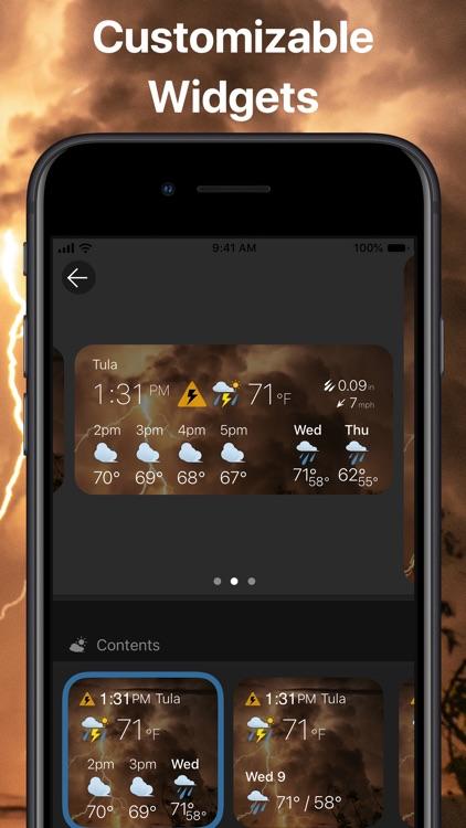 Weather & Widget - Weawow screenshot-8