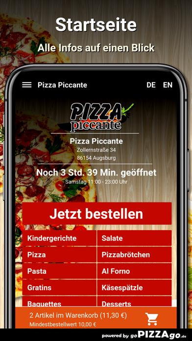 Pizza Piccante Augsburg screenshot 2