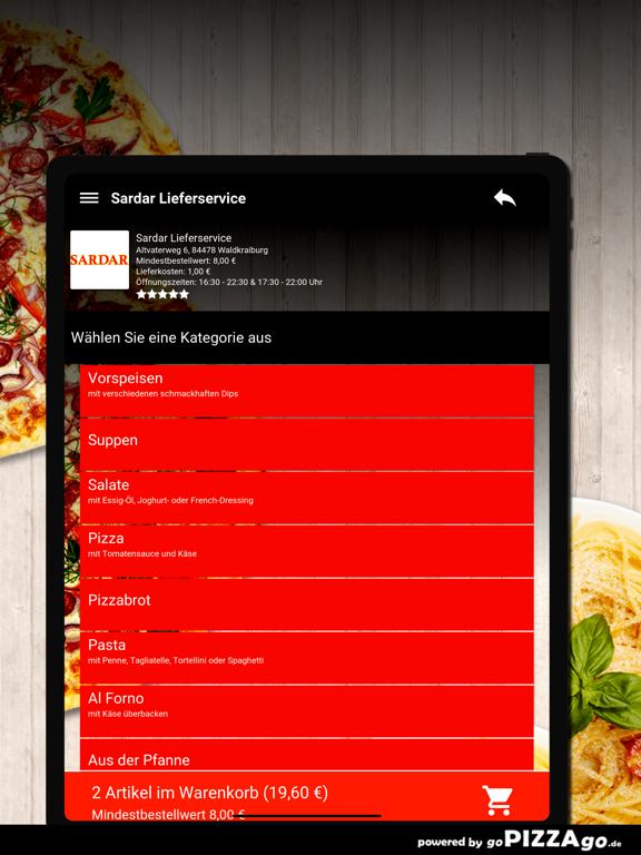 Sardar Lieferservice Waldkraib screenshot 8