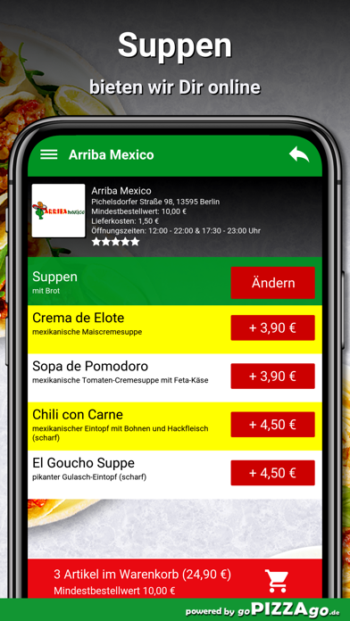 Arriba Mexico Berlin screenshot 5