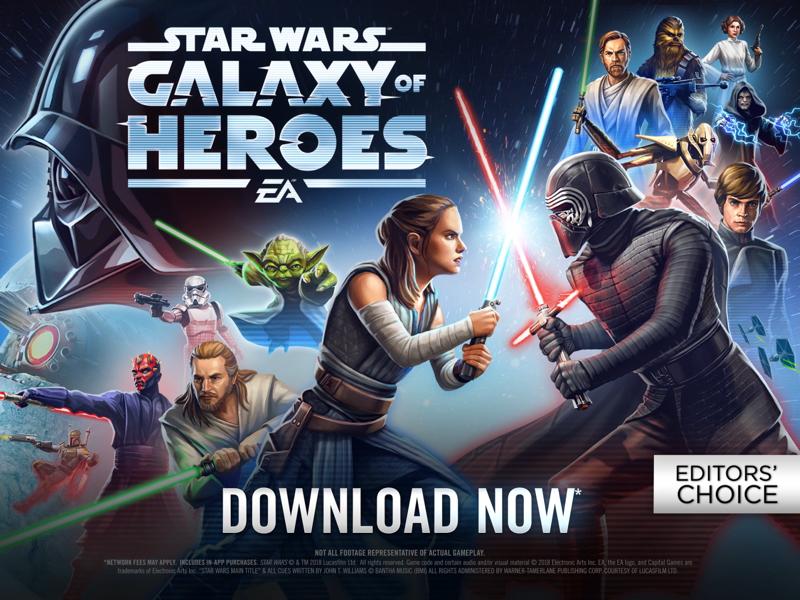 Star Wars™: Galaxy of Heroes - Revenue & Download estimates