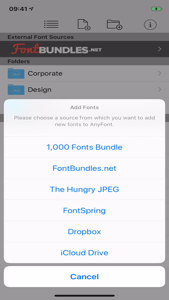 AnyFont App 视频
