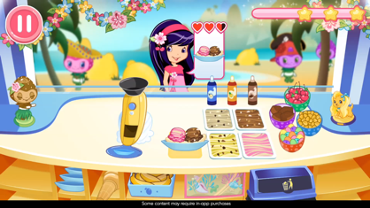 Strawberry Shortcake 草莓甜心:冰激凌岛 App 视频