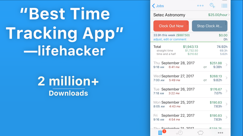 hourstracker hours and pay revenue download estimates apple