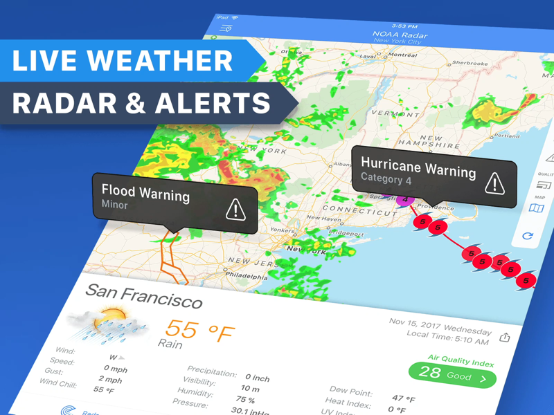 Regenradar - Vorhersage Wetter - Revenue & Download estimates - App ...