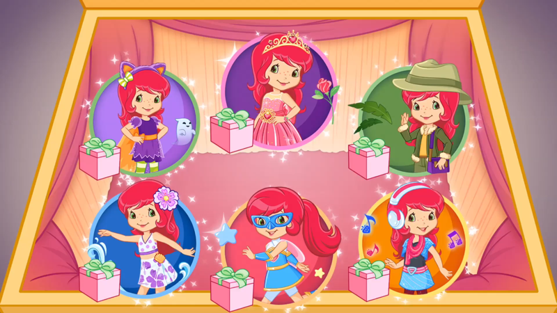 Strawberry Shortcake Dress Up Dreams - Revenue & Download
