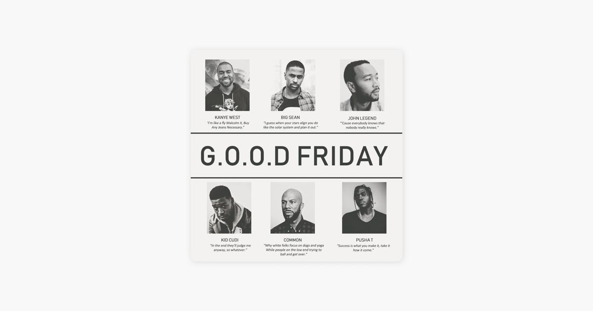 G.O.O.D Friday by Jameel Raeburn on Apple Music