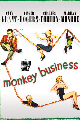 Howard Hawks - Monkey Business (1952) artwork