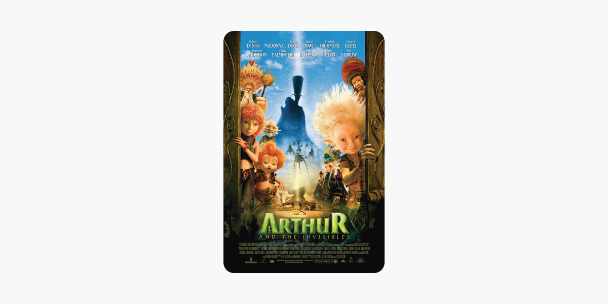 Arthur And The Invisibles On Itunes