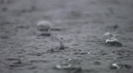 Meditation On Rain - Serene and Tranquil Raindrops Into Water With Music - Nature Sounds