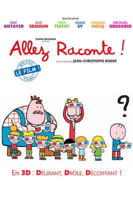 Jean-Christophe Roger - Allez raconte illustration