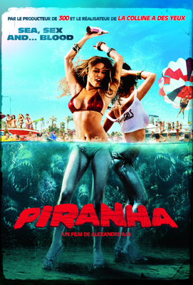Alexandre Aja - Piranha (VOST) illustration