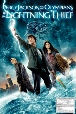 Chris Columbus - Percy Jackson & the Olympians: The Lightning Thief artwork