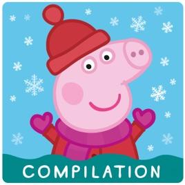 Peppa Pig Christmas.Peppa Pig Christmas Compilation