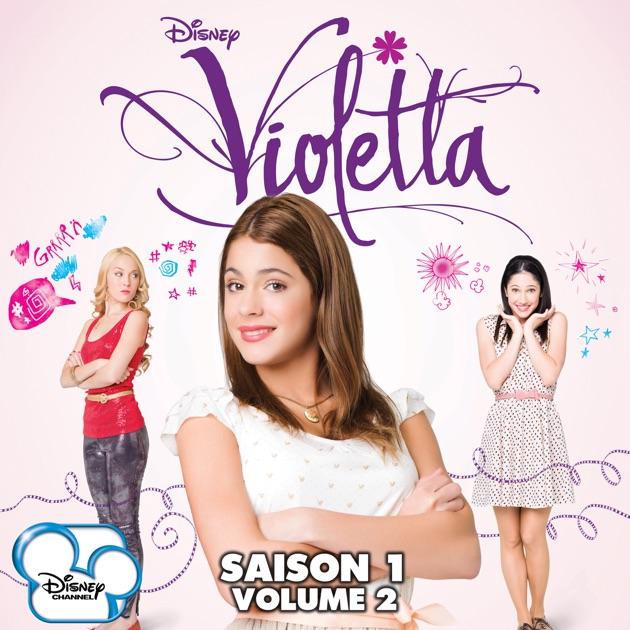Violetta saison 1 vol 2 sur itunes - Musique de violetta saison 3 ...