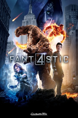 Poster of Fantastic Four 2015 Full Hindi Dual Audio Movie Download BluRay 720p
