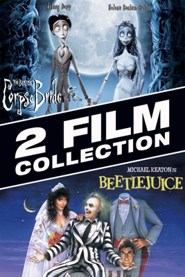 Poster for Beetlejuice / Tim Burton's Corpse Bride: 2 Film Collection
