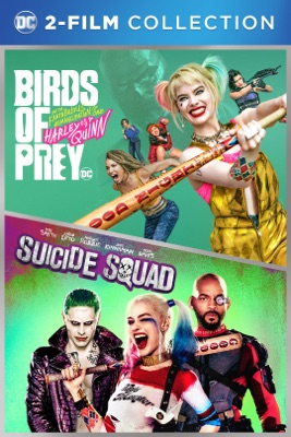 Poster for Birds of Prey & Suicide Squad 2-Film Bundle
