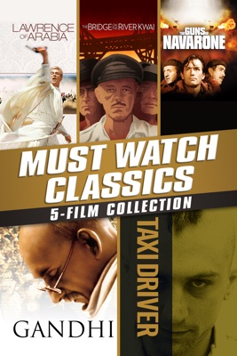 Poster for Must-Watch Classics 5-Film Collection