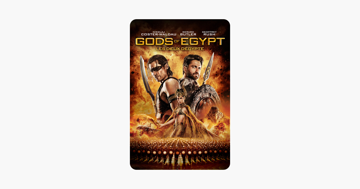 Les dieux d egypte