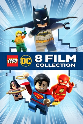 Poster for LEGO DC 8-Film Collection