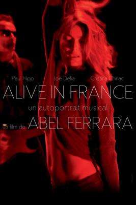 Abel Ferrara - Alive in France illustration