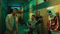 Marshmello & Jonas Brothers - Leave Before You Love Me artwork