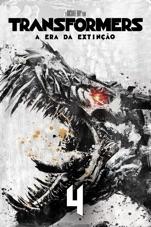Capa do filme Transformers: A Era da Extinção