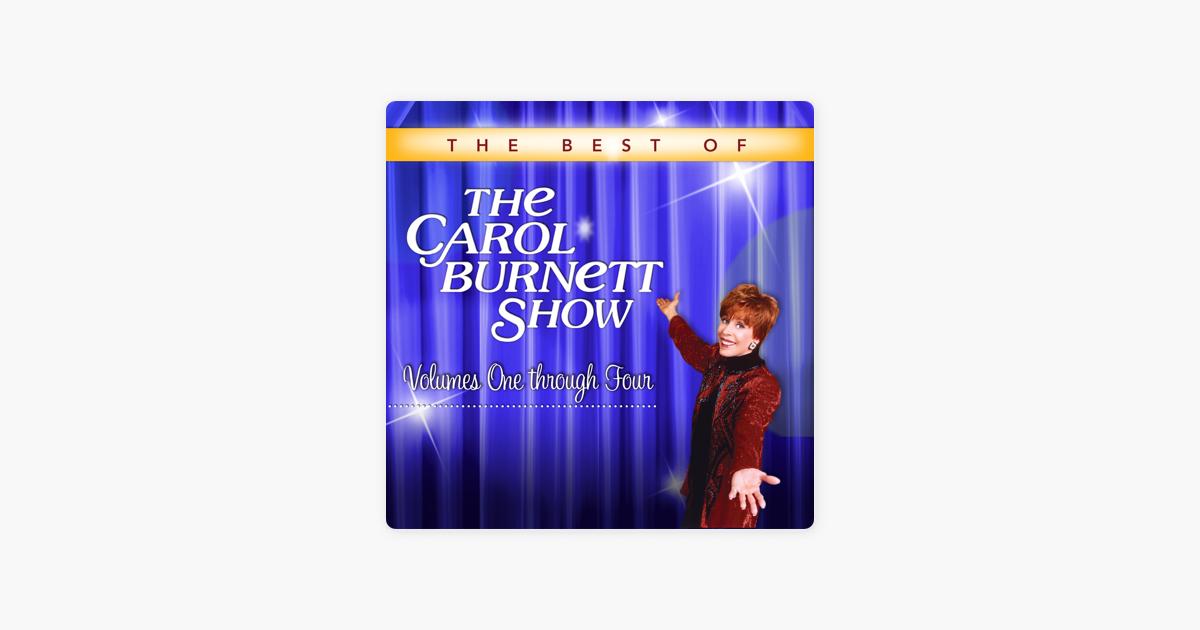 The Best of The Carol Burnett Show, Volumes 1-4