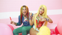 6ix9ine - FEFE (feat. Nicki Minaj & Murda Beatz) artwork