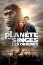 Affiche du film La Planète des Singes : les origines