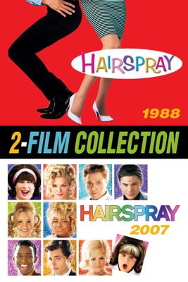 Poster for Hairspray (2007) / Hairspray (1988) 2 Film Collection